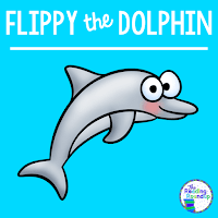 The Reading Roundup - Decoding Secret - Beanie Baby Reading Strategies - Flippy the Dolphin