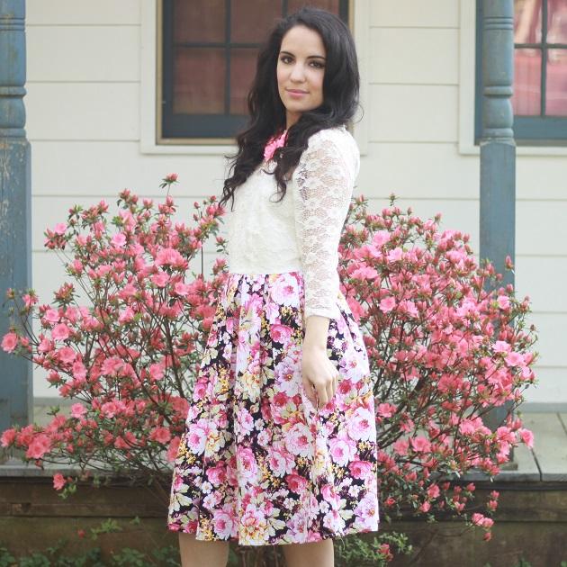 Floral Dress for Spring
