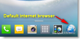 default internet browser android