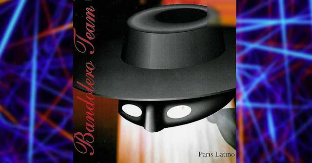 La copertina del remix anni 90 di ''Paris Latino'' dei Bandolero realizzato dal Factory Team