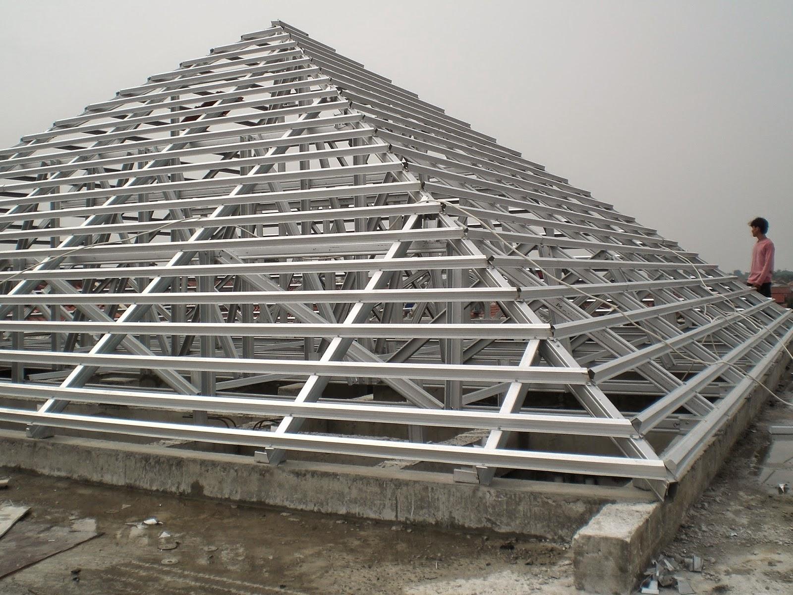 rangka atap baja ringan murah jakarta solar sun hot water heater