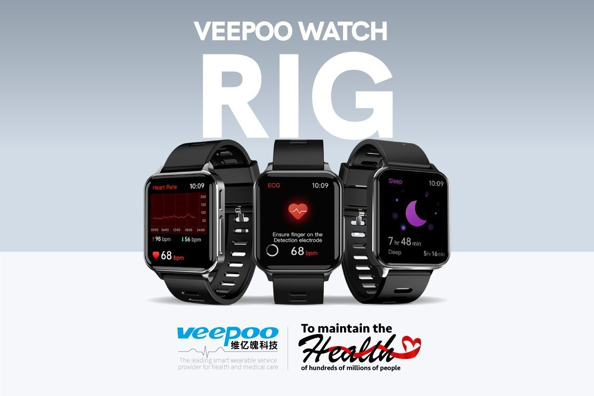 Veepoo technology releases the health smartwatch: Watch Rig