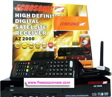 طريقة تحديث جهاز ECHOSONIC AZ 2000,طريقة تحديث جهاز ,ECHOSONIC AZ 2000,