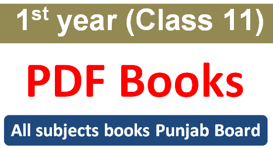 1st year class 11 pdf books of punjab textbook board 2020