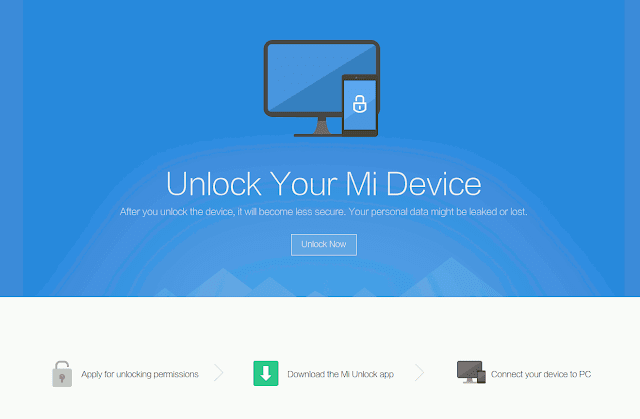 unlock mi device