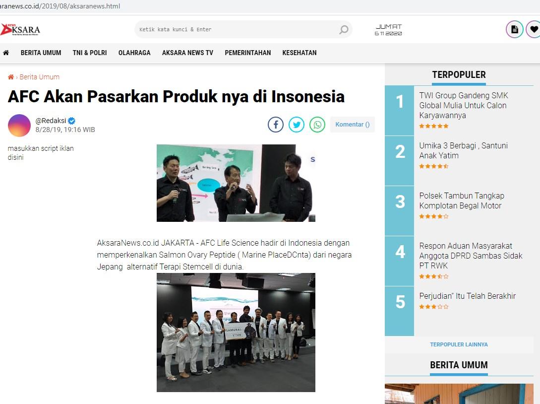 Produk AFC SOP 100+: Tips Terapi Stem Cell yang Mudah dan Halal<br/>. Agen, Distributor, Stockis, Apotik, Apotek, Toko Jual: Produk AFC SOP 100+, SOP 100+ Ginjal dan Khasiat Utsukushii di Lubuk RukamPeninjauanOgan Komering Ulu, Surabaya, dan juga di Czech Republic.