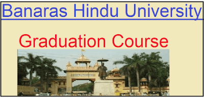 banaras hindu university graduation course list