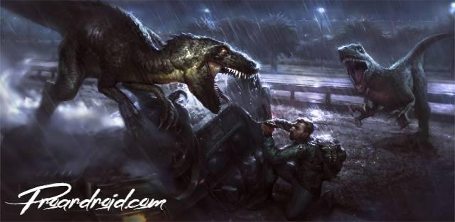 تحميل لعبة البقاء على قيد الحياة في ارض الجوراسيك Jurassic Survival الكبيرة النسخة المهكرة للاجهزة الاندرويد