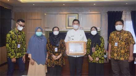 Pemko Sawahlunto Dapat Penghargaan dari Kementerian Keuangan RI