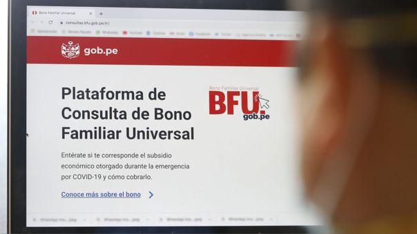 1 millón y medio de hogares ya han sido beneficiados con el BFU según el MIDIS en 3 días