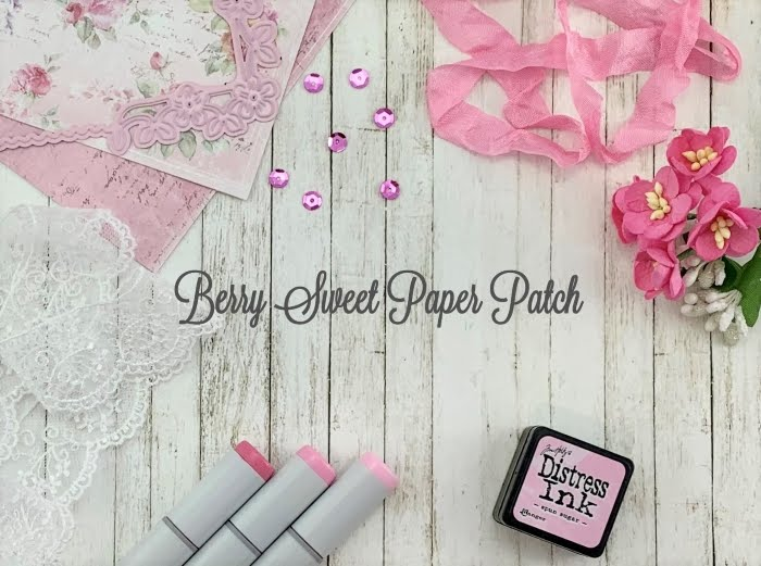 Berry Sweet Paper Patch