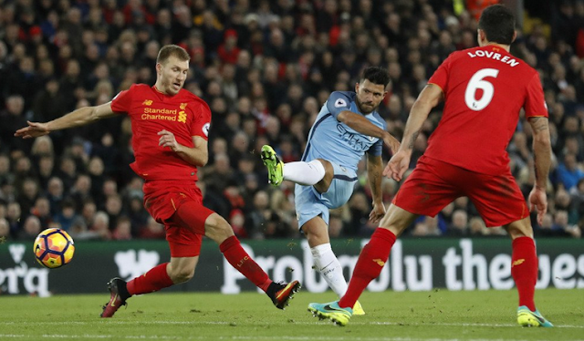 Liverpool 1-0 Manchester City BPL pekan-19