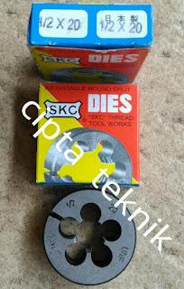 """Snei SKC/ Round Dies 1/2"""" inchi x 20 UNF"""