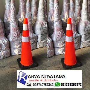 Jual Trafic Cone Jalan Tinggi 90cm Murah di Karyanusatama