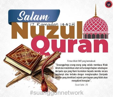 SALAM NUZUL AL-QURAN 1442 HIJRAH