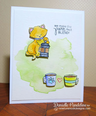 Newton Loves Coffee | Newtons Nook Designs | by Danielle Pandeline