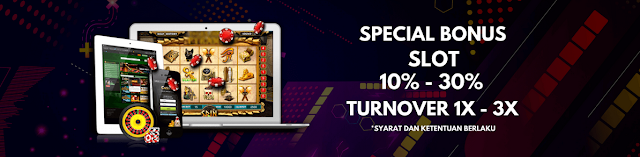 Permainan judi Slot online Dengan Bonus Maksimal