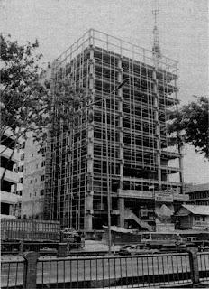 Konstruksi Gedung Kodel, 1991.