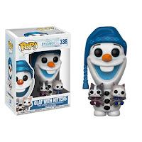 Pop! Disney: Olaf's Frozen Adventure - Olaf with Kittens
