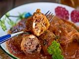 Repollo Relleno de Carne Picada