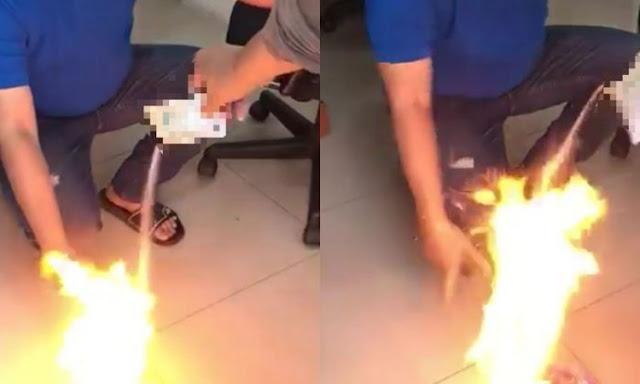 Viralnya video seorang netter yang membakar kopi kemasan Luwak White Coffe hingga mudah terbakar mengundang tanda tanya banyak pihak. Benarkah kopi kemasan tersebut mengandung bubuk mesiu ? sebelum anda memvonis begitu, bacalah dahulu penjelasan ilmiah mengapa kopi sejenis Luwah White Coffe mudah terbakar.