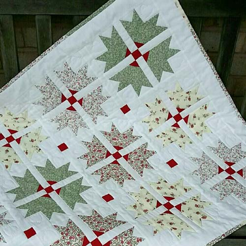 Cross and Crown Quilt