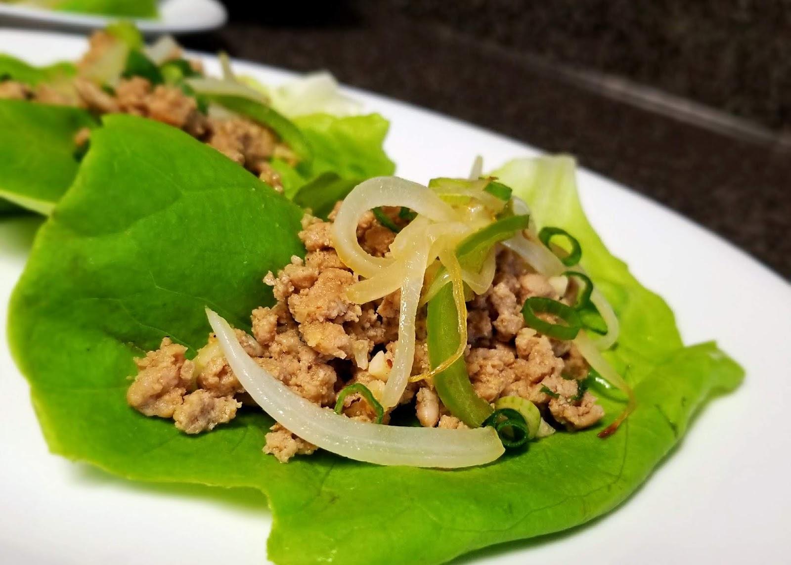 Thai Beef Wraps