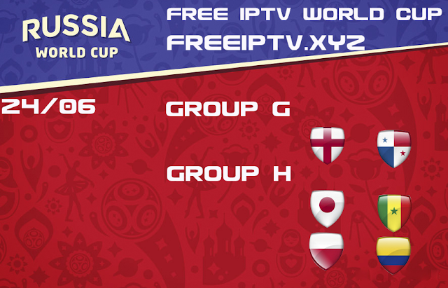 World Cup 2018 iptv free m3u list 24/06/2018
