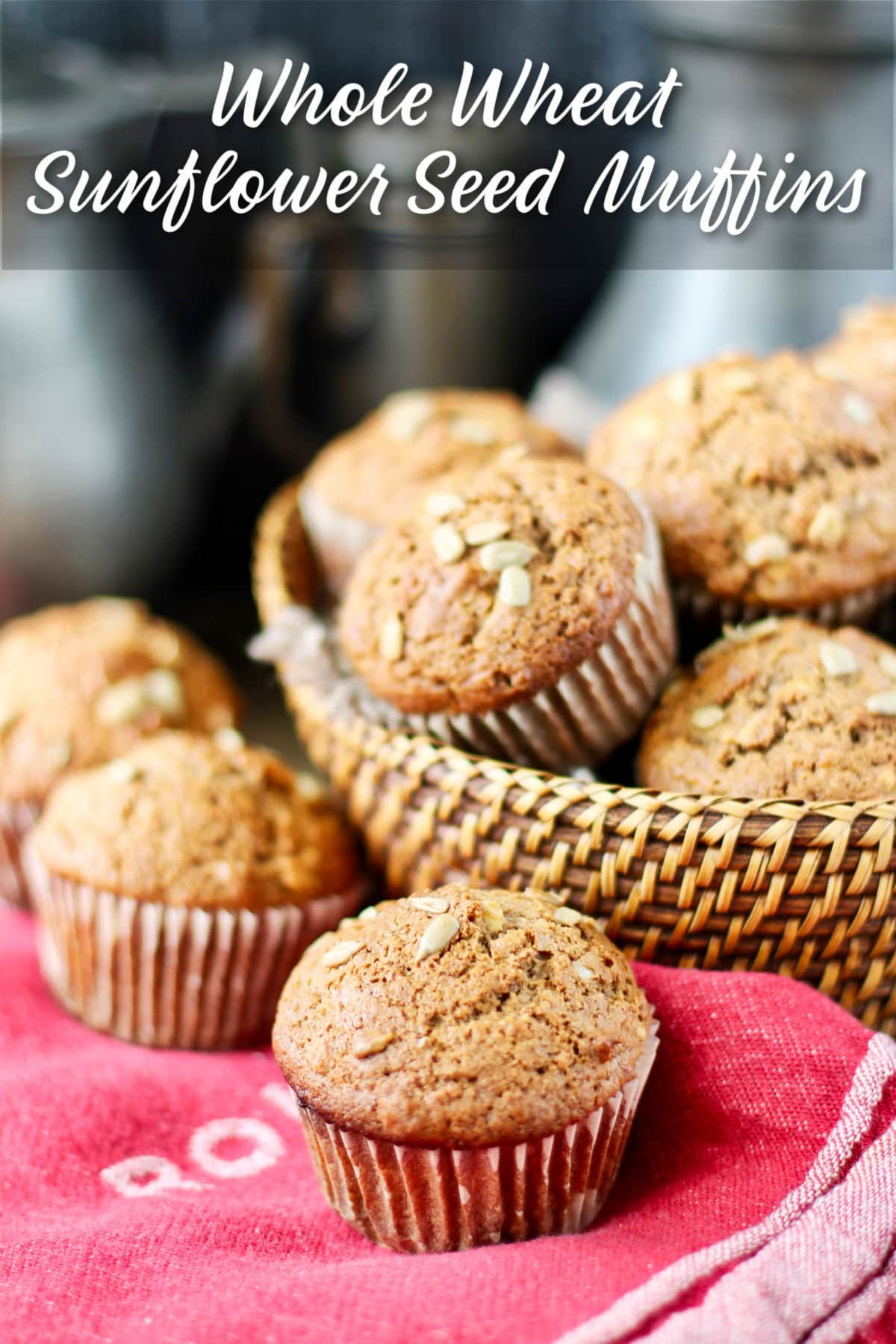 Whole Wheat and Sunflower Seed Muffins.