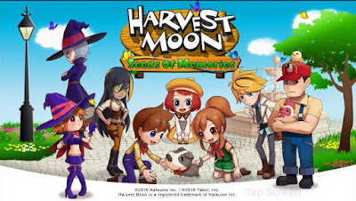 Game Harvest Moon Seeds Of Memories Apk+Data For Android