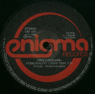 The Lesbians - The Lesbians – Personality Crisis Time / I Don't Care (Do You?!) side A
