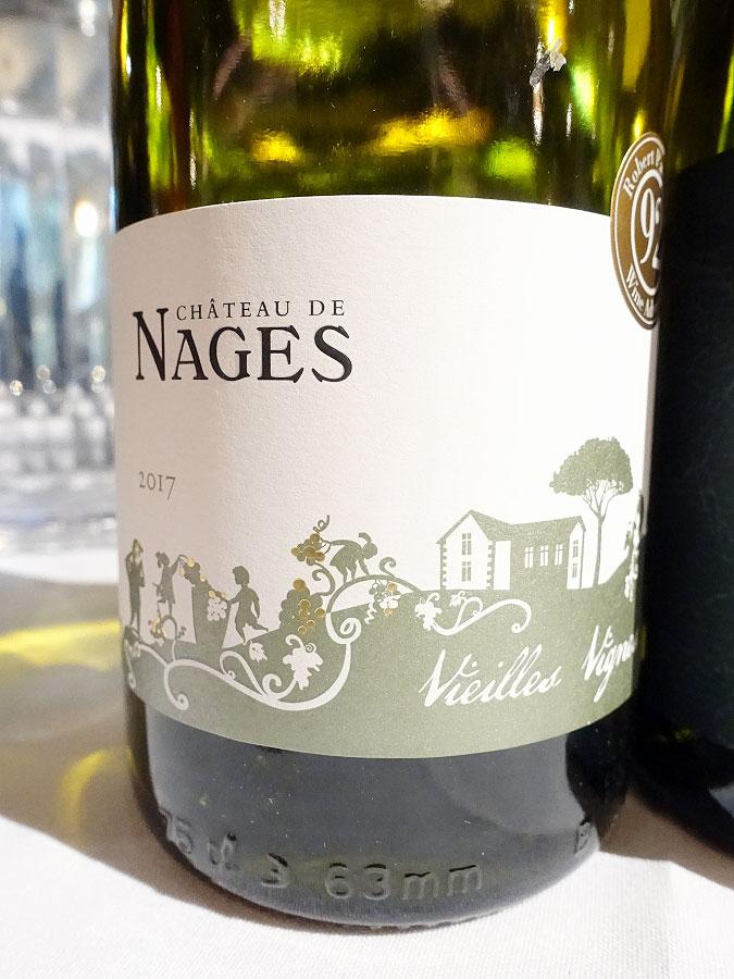 Château de Nages Vieilles Vignes Blanc 2017 (89 pts)