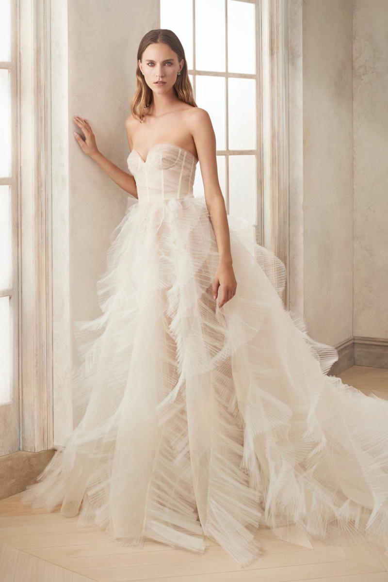 Oscar de la Renta Bridal Fall/Winter 2020 Lookbook