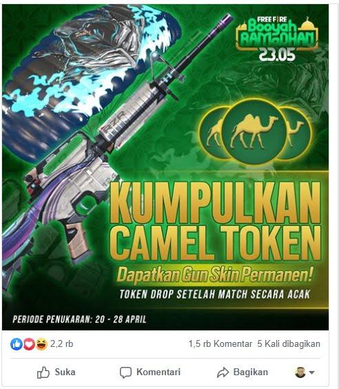 Camel Token Free Fire
