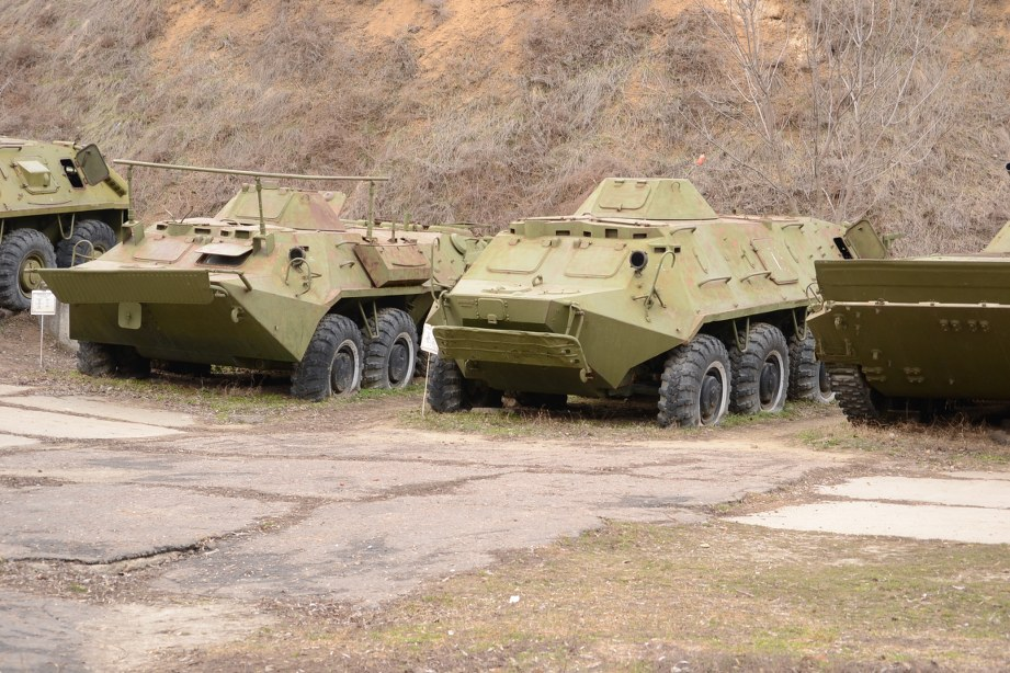 APC - Transportor, BTR - 60PB, Rusia