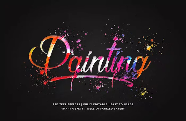 painting font style free download