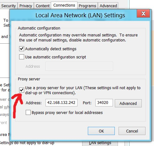 How to get vpn server name