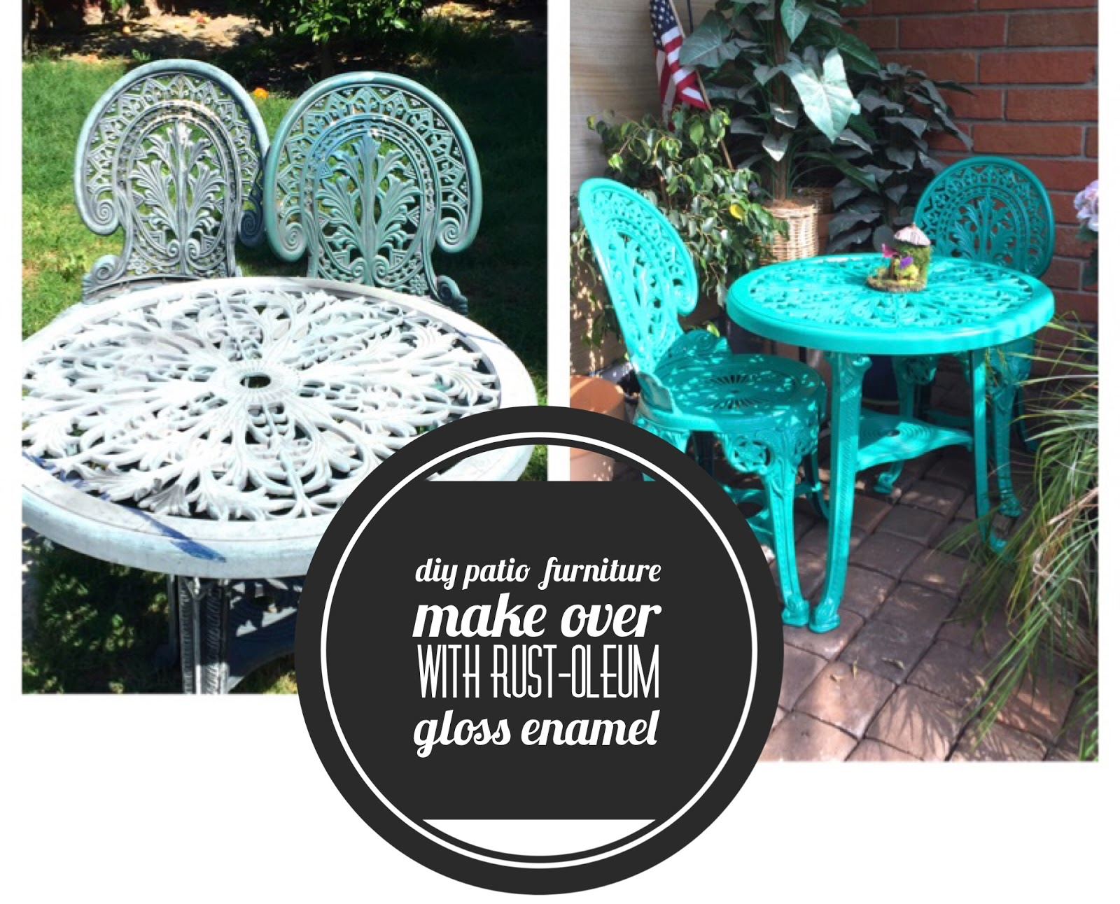 Keep Calm and Craft On: DIY Refurbished Patio Furniture Make