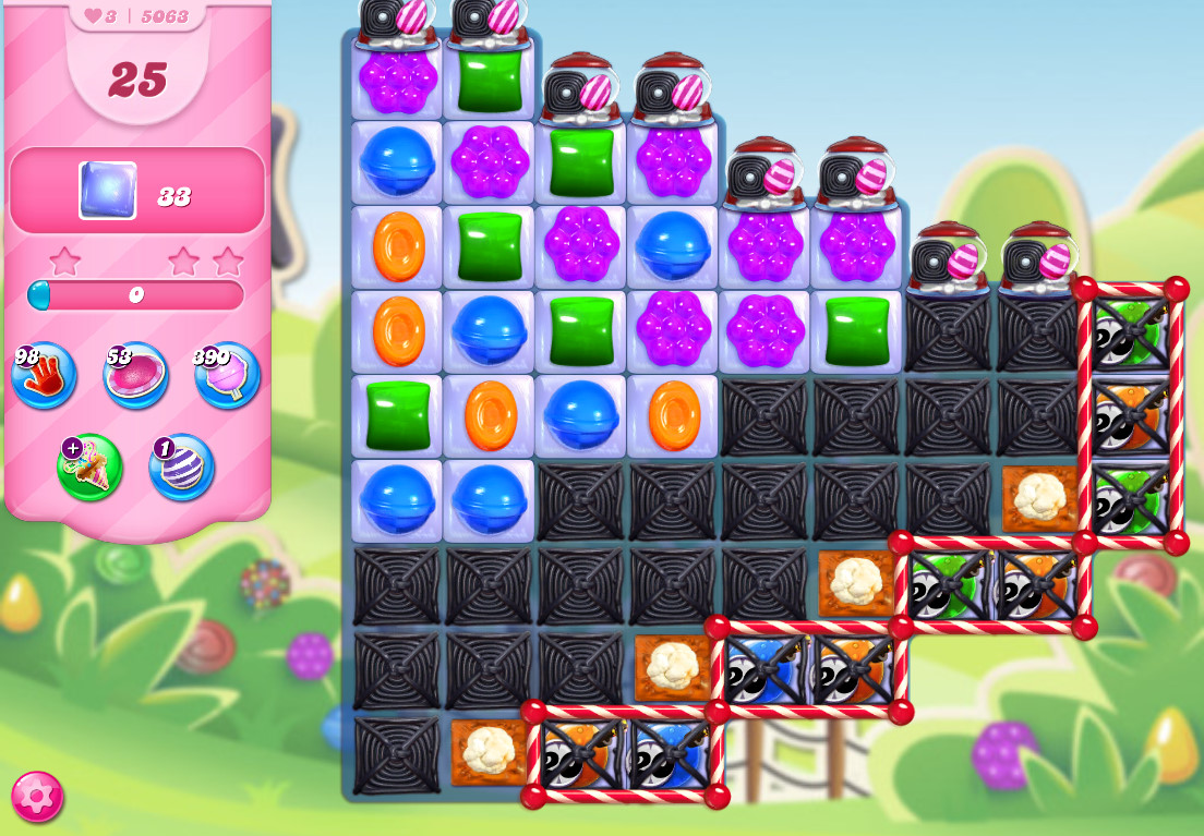 Candy Crush Saga level 5063