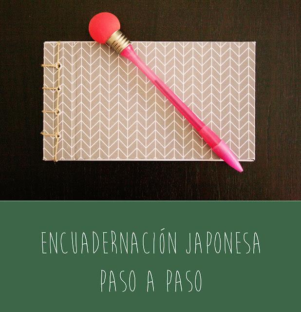 Encuadernación japonesa paso a paso