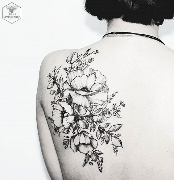Lovely Simple Tattoos For Women