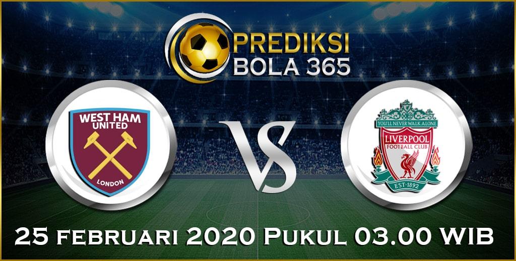 Prediksi Skor Bola Liverpool vs West Ham 25 February 2020