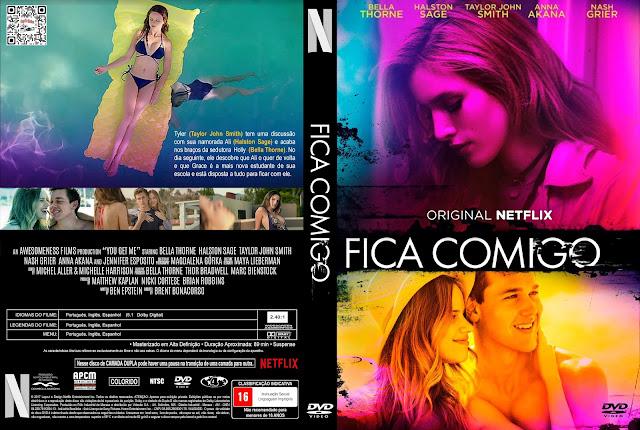 Capa DVD Fica Comigo [Custom]