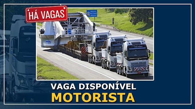 Transdata Transportes abre vagas para Motorista Categoria E