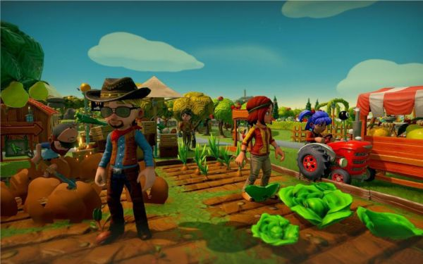 Lightweight Online Games for PC Farm Together