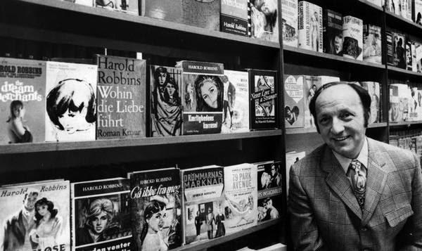 Cinco livros de Harold Robbins que não podem faltar em sua estante