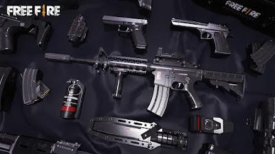 free fire best guns