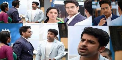 "Paritosh Misbehaves with Anuj, Anupamaa Scolds Paritosh, Anuj Brekas Deal "" Anupamaa's Upcoming Story Spoiler."