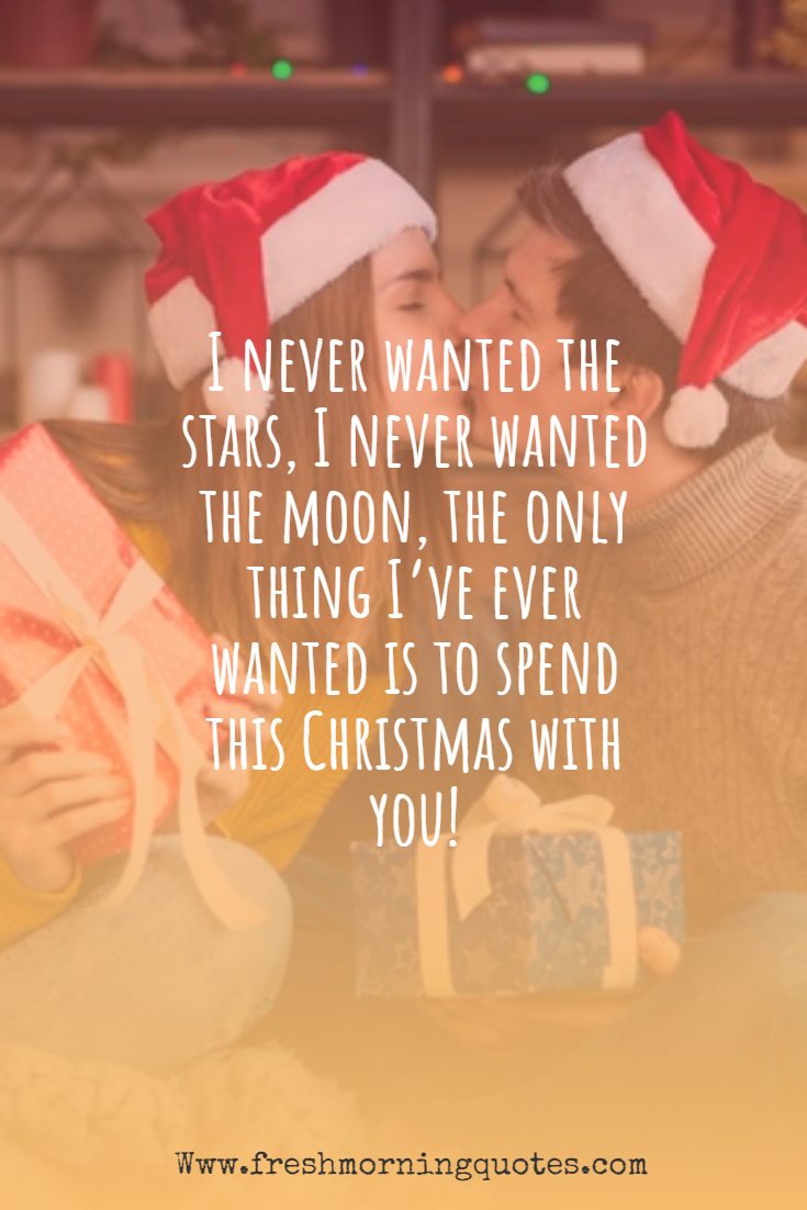 romantic Christmas love messages