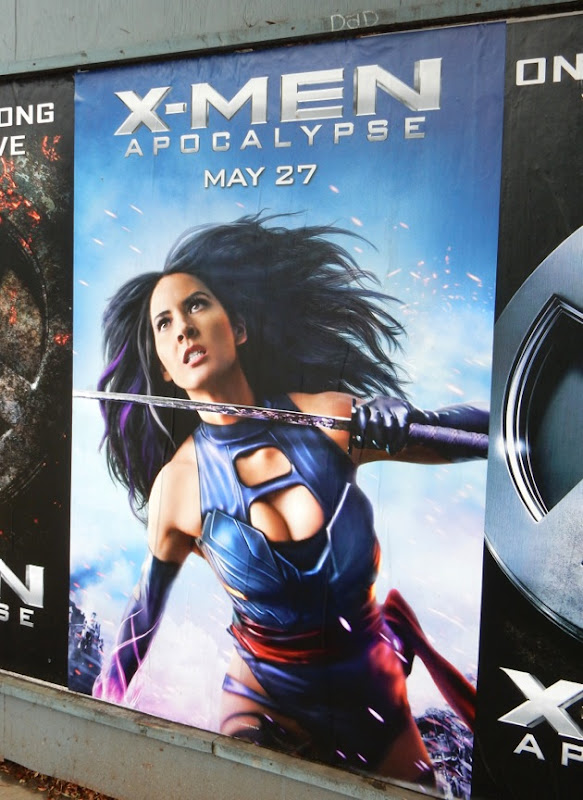 X-Men Apocalypse Psylocke movie poster